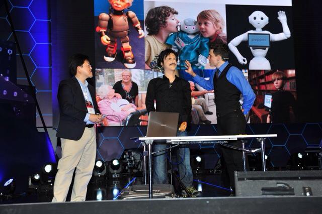 Empire Robotics Scientist Dr David Hanson Presents At Turkey