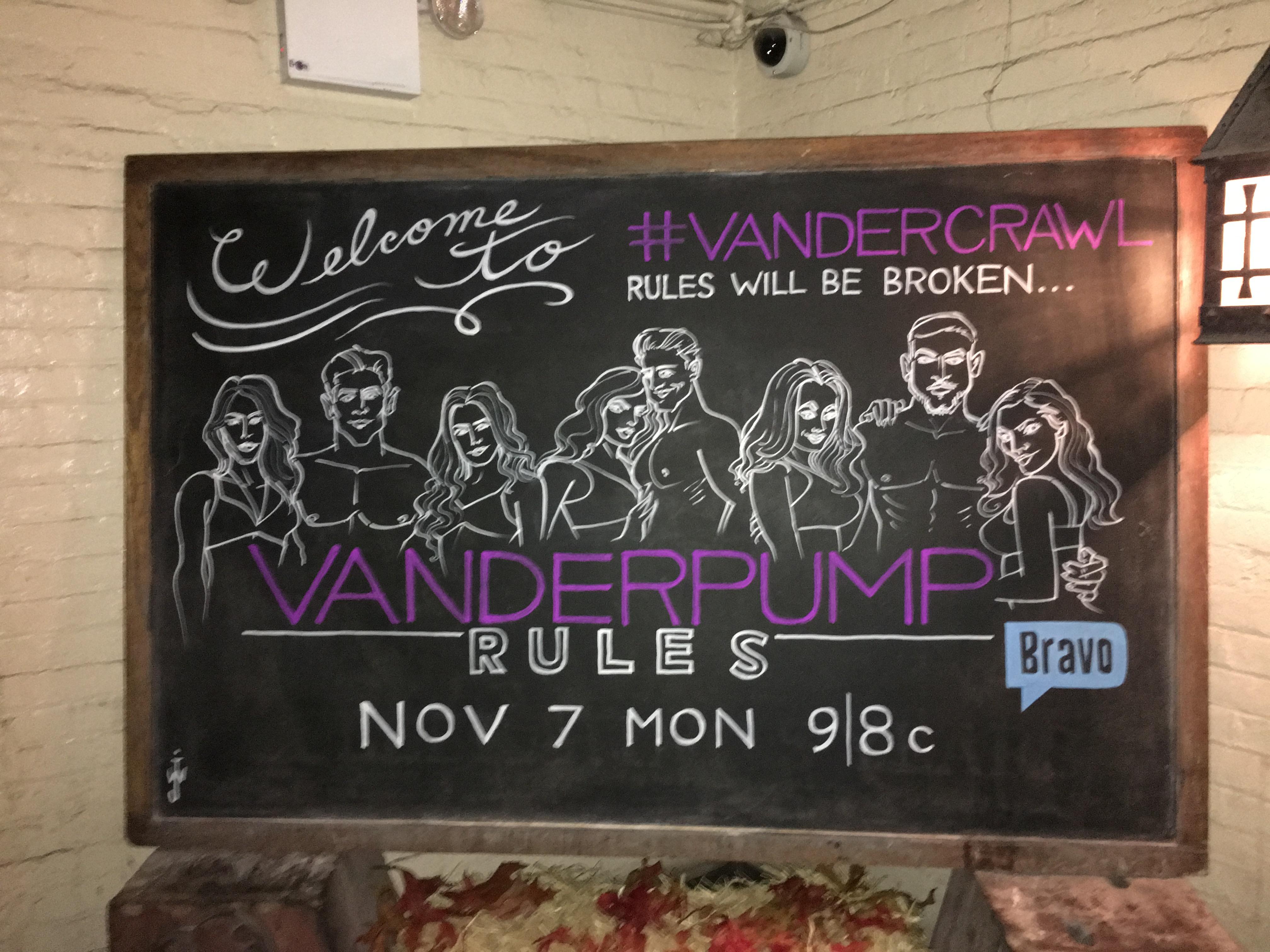 Empire - Bravo's Vanderpump Rules Bar Crawl